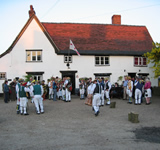 Summer Solstice at The Queens Head, Hawkedon, Suffolk