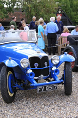 Vintage Cars at The Hawkedon Queen, Bury St Edmunds, Suffolk
